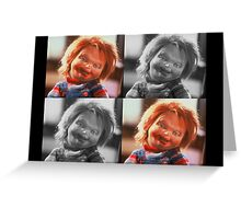 Childs play - Chucky Greeting Card