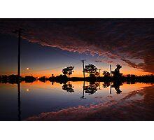 That sky Photographic Print