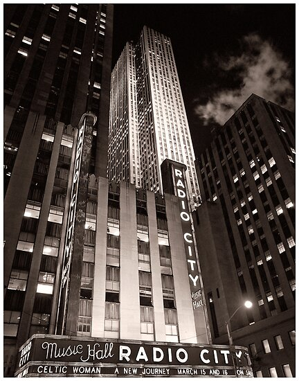Radio City by James Howe