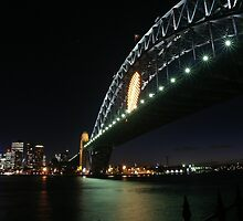 Rugby Union World Cup Harbour Bridge by MiImages