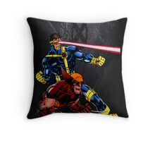 Spandex is cool!! Throw Pillow