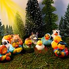 Rubber Duckie Nativity by WildestArt