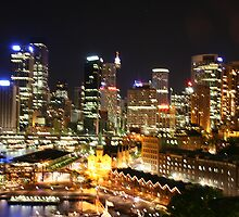Sydney Nightlights No.2 by MiImages