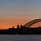 Sydney Sunset & Bridge by MiImages