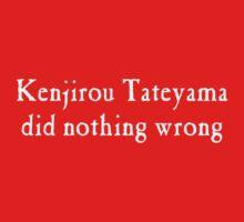 Kenjirou Tateyama did nothing wrong by torippu