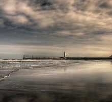 Whitby Beach by Dave Warren