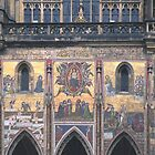 Mural, St. Vitus' Cathedral, Prague by Priscilla Turner
