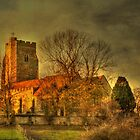 St Mary The Virgin Newington From The East by Dave Godden
