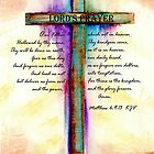The Lord's Prayer Cross by Linda Ginn Art