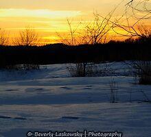 Marianna Pa Winter Sunset by BLaskowsky