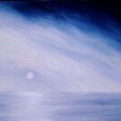 STORM & SEA ~ ACRYLIC ON CANVAS  by LacewingDesign