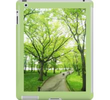 Lush Trees in Central Park NYC iPad Case/Skin