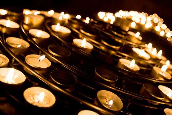 Church Candles by Craig Scarr