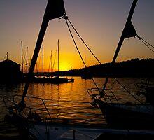 in port - brac, croatia by Kane Horwill
