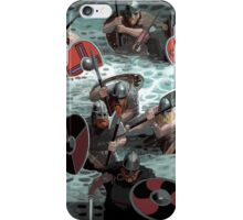 Vikings wading iPhone Case/Skin