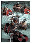 Vikings wading by David  Kennett