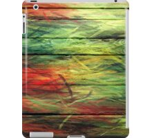 Abstract painted wood #3 iPad Case/Skin