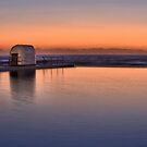 Merewether Baths Sunrise by Bev Woodman