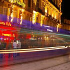 Long tram, Montpellier by Robin Wiggs