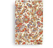 Abstract Flower Pattern Canvas Print