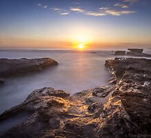 Caves Beach Sunrise - NSW Australia by Tam Church