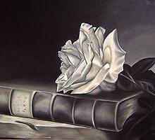 White rose by Schneemann