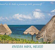 Riviera Maya Postcard by DeonnaJaiPhotos