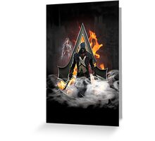 Assassin's Creed Unity Greeting Card