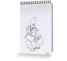 Petits Dessins Debiles - Small Weak Drawings#15 Greeting Card