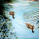The enchanted pond. by gunnelau