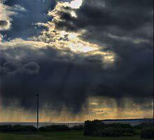 storm approaches aberafan beach port talbot by zacco