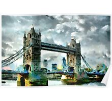 Tower Bridge, London - all products Poster