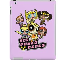 80s Power Girls iPad Case/Skin