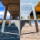 Quadrants of An Ocean Pier by Phil Perkins