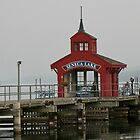 Seneca Lake Harbor Pier by Cheri Perry