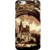 Byland Abbey, Yorkshire, England - all products bar duvet iPhone Case/Skin
