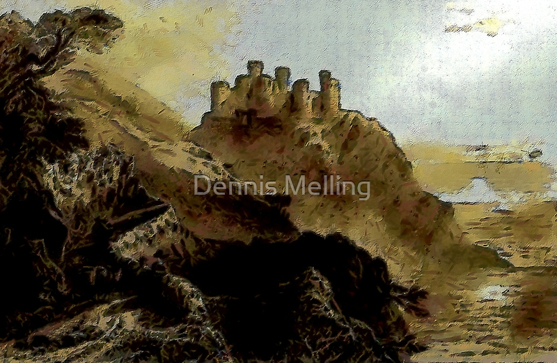 Harlech Castle, Wales - all products by Dennis Melling