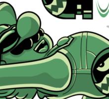 Super Mario Matrix Sticker