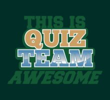 This is Quiz team AWESOME by jazzydevil