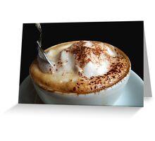Starbucks it is not...!!!  Greeting Card