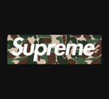 Supreme x Bape  Kids Clothes