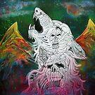 Wolf Spirit Animal by Laura Barbosa