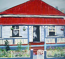 Old Queenslander  by gillsart
