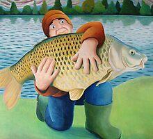 60lb carp by vickymount