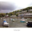 Looe Quay by Kate Adams
