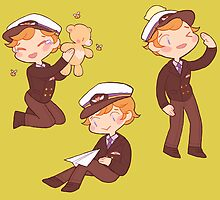 captain martin 'cutie' crieff by butterbear