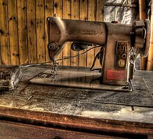A Stitch In Time..... by Dave Warren