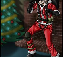Solid Snake xMas Art by Solbessx