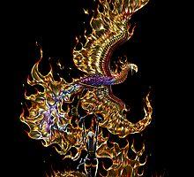 Phoenix by SMorrisonArt