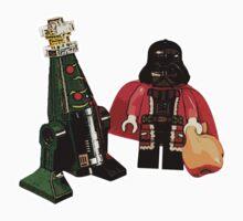 Santa Vader and a Droid Tree! Kids Clothes
